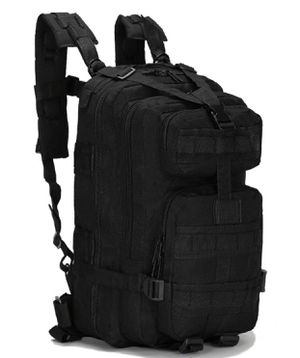 Neutral Adjustable Military Tactic Bag Backpack Nylon Hiking Black for Sale in Queens, NY