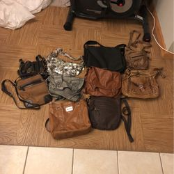 10 mixed purses / bags for Sale in Oak Lawn,  IL