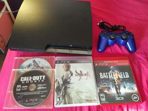 Playstation 3 with games for Sale in Germantown, MD