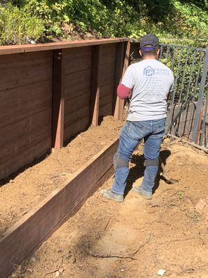 Retaining wall winstallation for Sale in Santa Cruz, CA