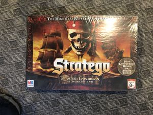 Board Game Stratego Pirates of Caribbean for Sale in Falls Church, VA