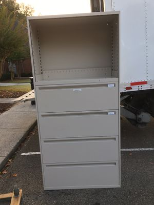 File cabinet 4 drawers 36x76x18 for Sale in Norcross, GA