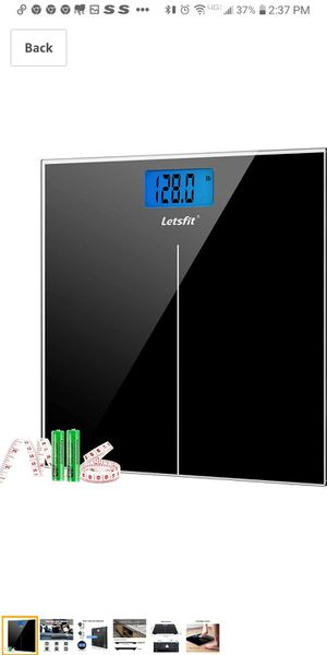 Letsfit digital bathroom scale for Sale in Ontario, OH