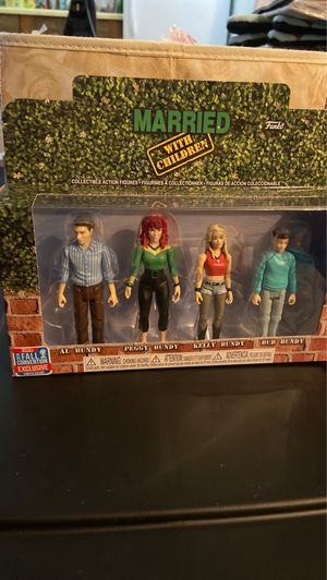 Limited Edition Married With Children Action Figures for Sale in Tucson, AZ