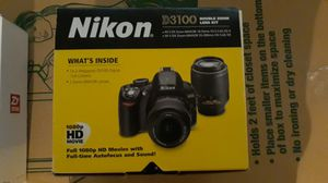 Nikon D3100 with Gimbal Crane for Sale in Cropwell, AL