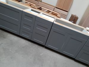5 NEW BASE CABINETS FOR KITCHEN LAUNDRY OR ISLAND for Sale in Glendale, AZ