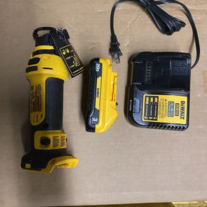 Dewalt 20V Cut Out + Battery And Charger for Sale in San Jose, CA