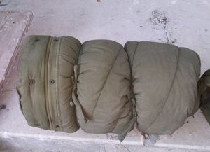 Military Army Extreme Cold Weather Sleeping Bag Mummy with hood for Sale in San Antonio, TX
