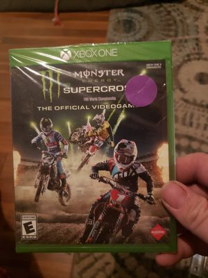 Xbox one monster energy supercross for Sale in Belleview, FL