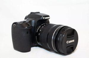 Canon EOS 70D DSLR Camera Black + EF-S IS STM 18-135mm Lenses for Sale in Plano, TX