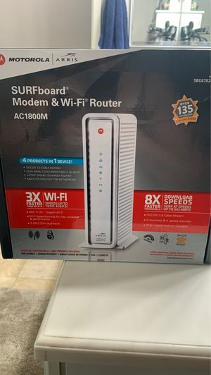 Modem and WiFi router for Sale in Lake Forest, CA