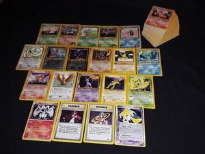 Pokemon cards Vintage collection holo rares for Sale in Philadelphia, PA