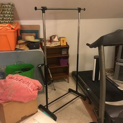"""Clothes Rack 5'7"""" Tall - Two Available for Sale in Raleigh,  NC"""