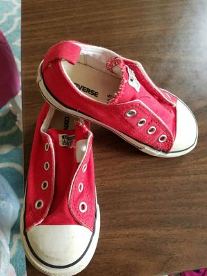 Girls shoes size 10k by Converse for Sale in Alexandria, VA