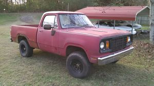 1978 Dodge Powerwagon. Full time 4WD. 4 speed. Granny gear. Runs good. Needs minor brake work. Lots new. 53 k miles showing. New carb/intake. for Sale in Dandridge, TN