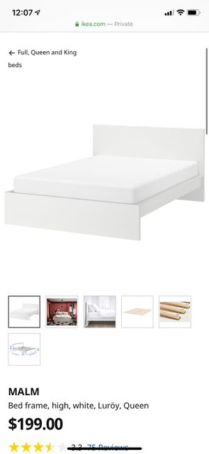 IKEA malm full bed frame for Sale in Portland, OR