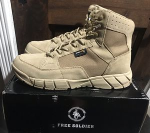 New FREE SOLDIER Men's Tactical Lightweight Military Boots (Men's 11.5) - $45 for Sale in Pomona, CA