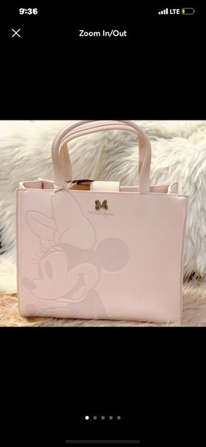 loungefly minnie mouse pink handbag for Sale in Pinon Hills, CA