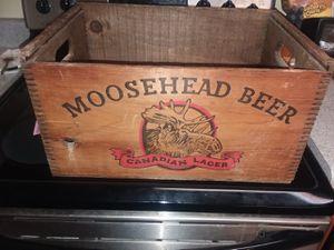 MOOSEHEAD Beer Crate for Sale in Lynchburg, VA