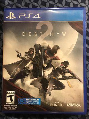 Destiny 2 PS4 for Sale in Milton, PA