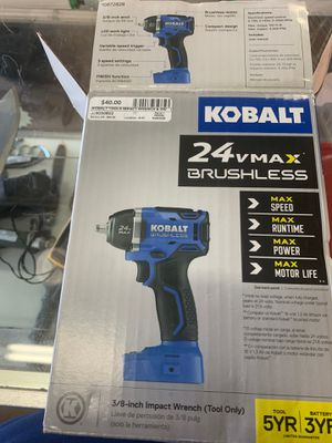 Kobalt tools impact wrench and Dri for Sale in Centennial, CO