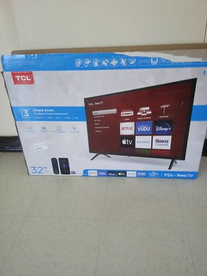 Tcl smart tv 32in for Sale in Benwood, WV