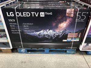 Lg oled C9 55 inch 4K tv oled55c9p for Sale in San Marino, CA