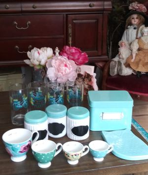 Turquoise Group, Practical Kitchen Cuties!! for Sale in Tumwater, WA