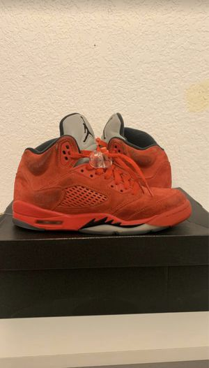 jordan 4 red suede for Sale in Forest Hill, TX