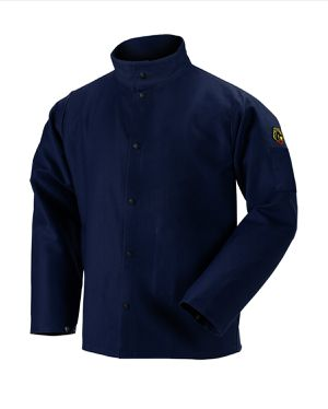 FN9-30C TruGuard™ 200 FR Cotton Welding Jacket, Navy for Sale in Chino, CA