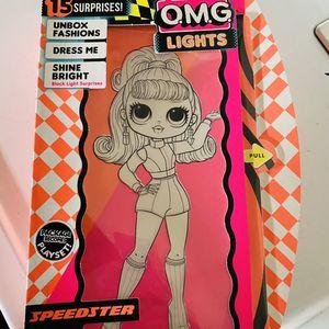 Lol Surprise Omg Lights Speedster Doll for Sale in Perris, CA