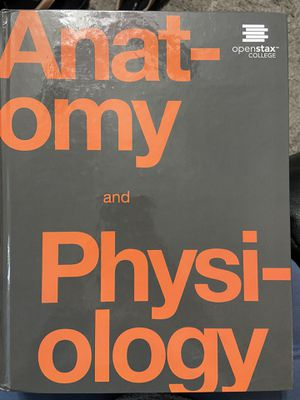 Anatomy and Physiology Book for Sale in Scottsdale, AZ