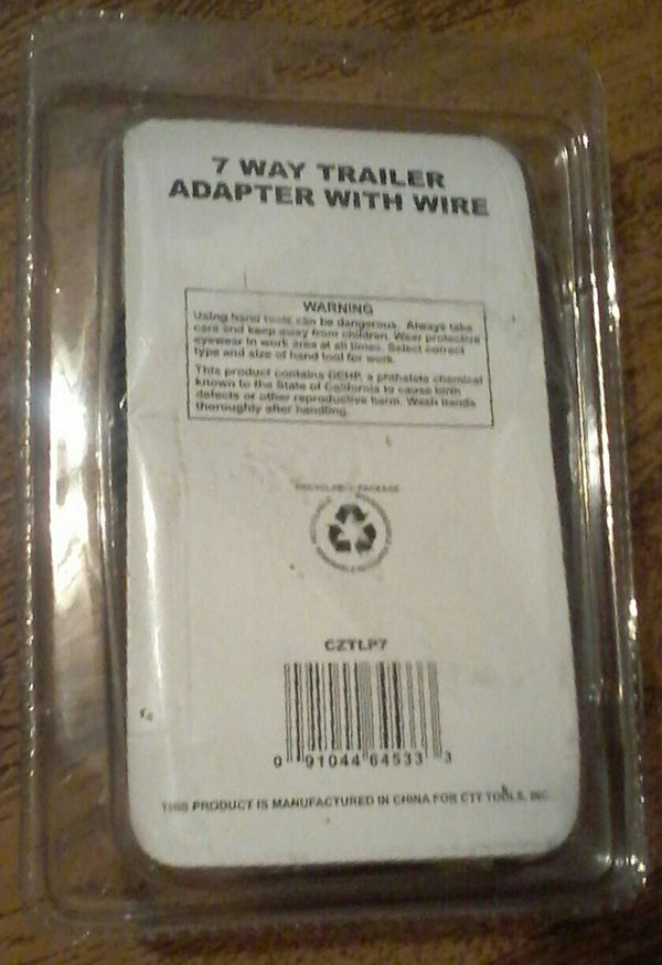 Cal - Hawk 7 Way Trailer Adapter