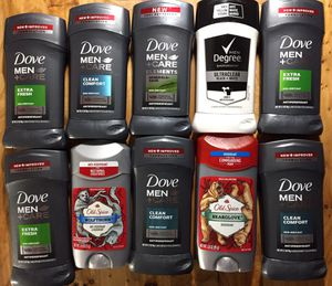 MENS NAME BRAND DEODORANT 10 PACK!! DEAL!! for Sale in Saint Charles, MO