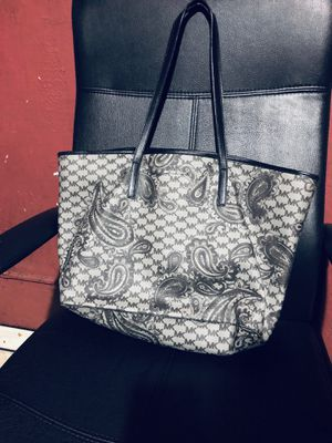 Michael Kors Black and Grey paisley tote for Sale in San Mateo, CA