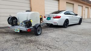 CAR WASH EQUIPMENT WITH TRAILER for Sale in Pompano Beach, FL