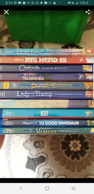 Disney DVD's and blu-rays for Sale in Mililani, HI