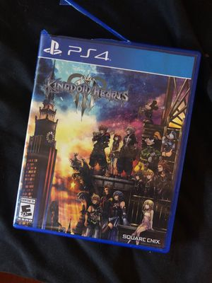 Kingdom hearts 3 for Sale in Branford, CT