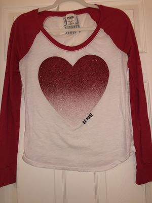 Pink by Victorias Secret Valentine's Day baseball tee for Sale in Las Vegas, NV
