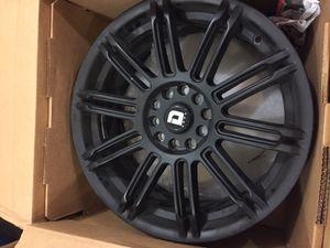 "17"" black universal lug pattern wheel for Sale in Nashville, TN"