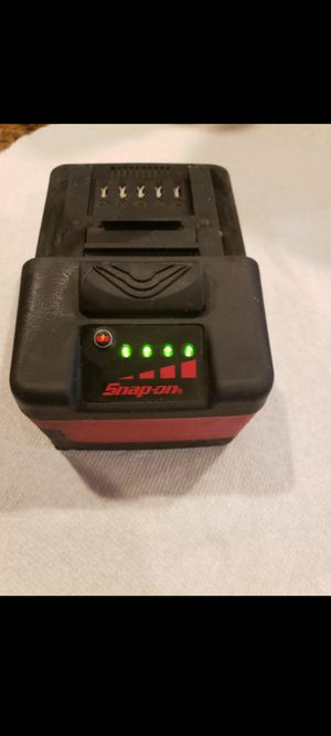Snap on battery for Sale in Temecula, CA