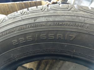 Set of 2 Firestone Destination tires for Sale in Traverse City, MI