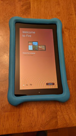 Amazon Fire 7 kids edition tablet (Like New) for Sale in Levittown, PA