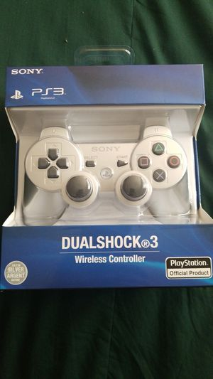 PS3 Controller Silver brand new sealed for Sale in El Cajon, CA