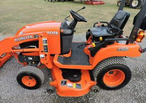 2012 Kubota BX1860 Sub Compact Tractor Loader Belly Mower 4X4 3 Point Hitch PTO! for Sale in Hayward, CA