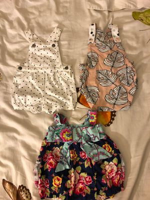 Girls rompers new 6M $5obo for Sale in Los Angeles, CA