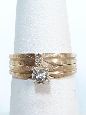 14k gold wedding set #SH3005180 for Sale in Phoenix, AZ