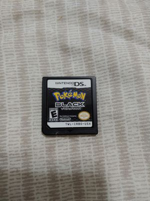 Pokemon Black Version AND Nintendo DS lite for Sale in New York, NY