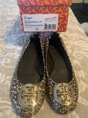 Tory Burch Flats size 7.5 for Sale in Washington, DC