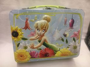 Disney Tinkerbell Metal Tin Lunchbox for Sale in St. Peters, MO